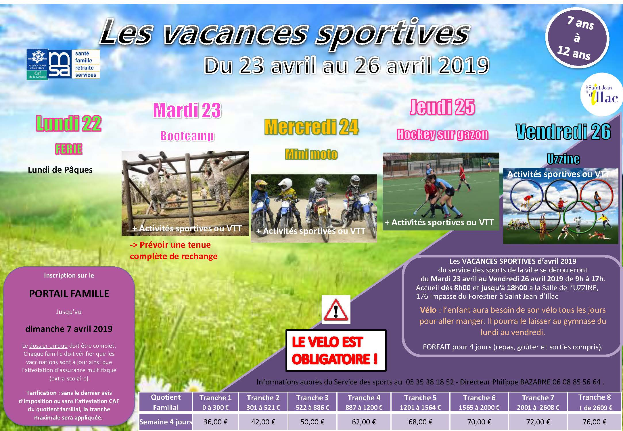 Vacances Sportives Paques 2019 Page 2